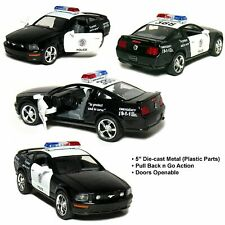 Kinsmart 2006 Ford Mustang GT Police Car Diecast Model Toy Cop 1:38