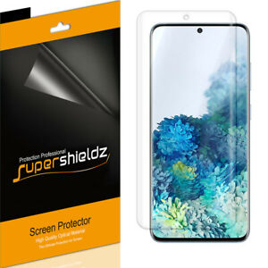 2X Supershieldz Clear Full Cover Screen Protector for Samsung Galaxy S20 5G/ UW