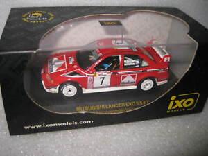 IXO 1/43 WRC MITSUBISHI LANCER EVO T MAKINEN RALLY WINNER PORTUGAL 2001 RAM005