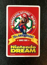 NINTENDO Dream Super Mario 20th Anniversary Trump Deck Card Complete JAPAN RARE