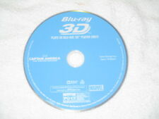 3D Movie Blu Ray CAPTAIN AMERICA WINTERS SOLDIER MARVEL COMICS DISC ONLY **