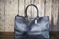new Quilted Koala East West Silver Metallic Bag purse