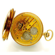 Rare IWC Gold Pocket Watch | 14K Yellow Gold Hunter Case CA1901
