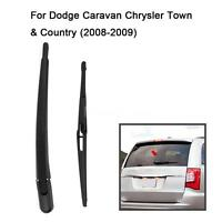Rear Window Wiper Arm + Blade Fits Dodge Grand Caravan Town Country 2008-2009
