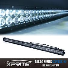 "Xprite 5D 50"" INCH 288W LED Light Bar Mounting Bracket Jeep Wrangler JK Rubicon"