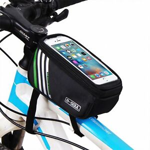NEW Outdoor Mountain Bike Bicycle Pouch Cycling Frame Front Top Tube Bag UK