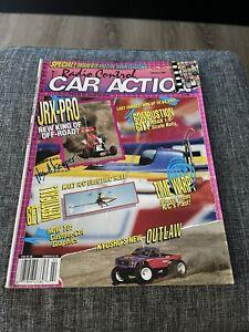 Vintage Radio Control Car Action Magazine RCCA February 1991 Nice Complete