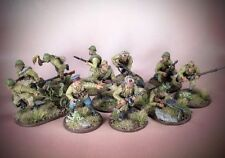 Painted Bolt Action SOVIET VETERAN SIBERIAN SQUAD Russian Infantry 28mm WWII