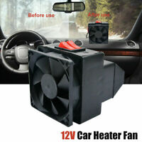 12V Electric Car Heater Fan Air Heater Fan Temperature Heating Defroster Demiste