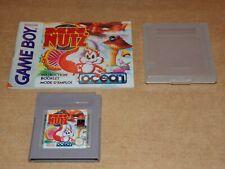 MR NUTZ Jeux Gameboy Game Boy Nintendo avec Notice