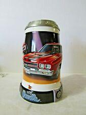 Budweiser 1970 Chevelle Ss454 Lidded Stein Cs655