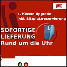 ! SOFORTIGE LIEFERUNG ! Gutschein eCoupon Upgrade 1. Klasse Deutsche Bahn DB !