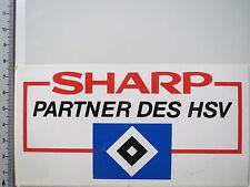 Aufkleber Sticker Hamburger SV HSV 80er Sharp Sponsor (3889)