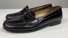 Cole Haan Men's Slip On Burgundy Penny Loafers Size 9  1/2 D