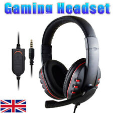 More details for stereo video gaming headset for xbox one ps4 nintendo switch & pc mic&headphones