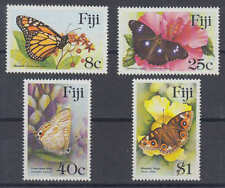 Fidschi-Inseln (Fiji) - Michel-Nr. 517-520 postfrisch/** (Schmetterlinge / Butte