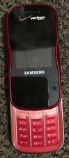 Samsung Trance SCH-U490 Black (Verizon) Cellular Phone Fast Ship Very Good Used