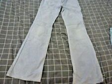 JUST JEANS GREY CORDS PANTS SIZE 9