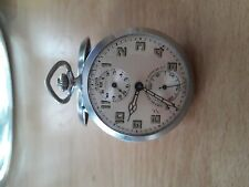 Vintage Abercrombie & Fitch , Angelus Alarm Pocket Watch