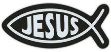 Ichthys Car Magnet - Jesus Christ, Son of God, Savior (Fish Symbol)