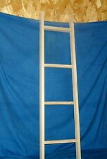 "Rustic Country Wooden blanket Ladder 42"" Unfinished wall Décor FREE SHIPPING"