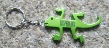 Desperado's Green Gecko Metal Keyring Keychain Bottle Opener - Brand New