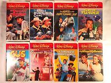 Lot of 8 Walt Disney Film Classics VHS Don Knotts Kurt Russell Haley Mills