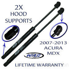 Two New Hood Lift Supports Shock Strut Prop Rod Arm Damper For 07-13 Acura MDX