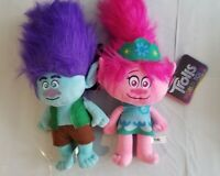 Trolls World Tour Plush Movie 2020 NEW Doll Stuffed Toy 15in Poppy and Branch