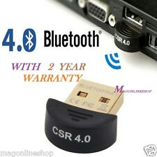 Mini Bluetooth Wireless USB 4.0 Dongle Adapter For Computer & Laptop