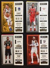 2017-18 Panini Contenders Basketball Season Ticket Cards Lot You Pick