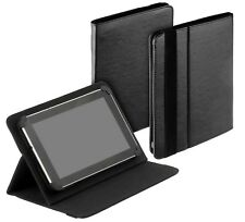 Universal Tablet Book Style Tasche f Colorfly U781 Q1 Ultima Case Hülle schwarz