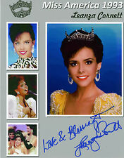 REPRINT - MISS AMERICA 1993 LEANZA CORNETT #SN1 autographed signed photo