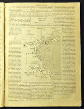 1859,Guerre d'Italie,1 FOGLIO o 2 PAGINE CON 3 STAMPE XILOGRAFICHE_Risorgimento.