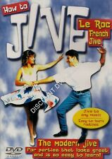 HOW TO JIVE. EASY TO LEARN MODERN JIVE. SHIPS FROM OUR ESSEX STORE