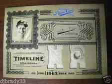 Stan Musial 2005 Playoff Prime Cuts 6/25  Game Used Jersey 1/1