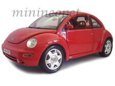 BBURAGO 18-12021 1998 VW VOLKSWAGEN NEW BEETLE 1/18 DIECAST RED