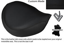 Negro Stitch personalizado se adapta a Triumph Latina Bonneville Speedmaster delantera cubierta de asiento