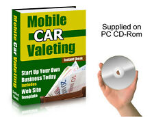 Mobile Valeting Business, Ebook & Website Template - A Great Opportunity