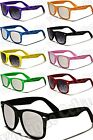 New Vintage/Retro Wayfarer Style Sunglasses-Black,Mirrored,Neon...(WF04-stm/st)
