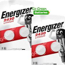 4 x Energizer CR2430 3V Lithium Coin Cell Battery Expiry 2029 *NEW PACKS*