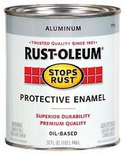 7715502 Protective Enamel Paint Stops Rust, 32-Ounce, Metallic Alumin