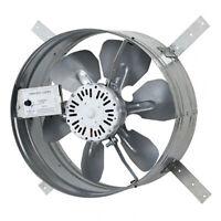iLiving Automatic Gable Mount Attic 3.1A Ventilator Fan w/ Adjustable Thermostat