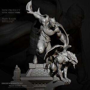95mm Resin Figure Model Kit SuperHero Batman Warrior of the Night Unpainted