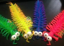 Sensory Squishy Centipede Toys x4 Fidget Toy Autism Tactile Special Needs ASD
