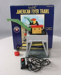 American Flyer 6-49819 S Scale Operating Electromagnetic Crane #583A EX/Box