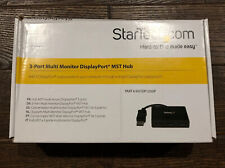 Startech.com 3-Port Multi-Monitor DisplayPort MST Hub Splitter MSTDP123DP