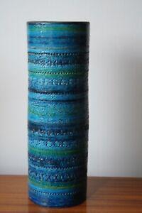 Bitossi Aldo Londi Rimini Blue Giant -41cm Tall x 14cm wide