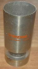 Porte-stylo thermomètre vintage 1974 (fonctionne), aluminium, publicitaire Erom