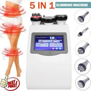 40K Cavitation Ultrasonic Body Vacuum Slimming 3D Smart RF Skin Tighten Machine